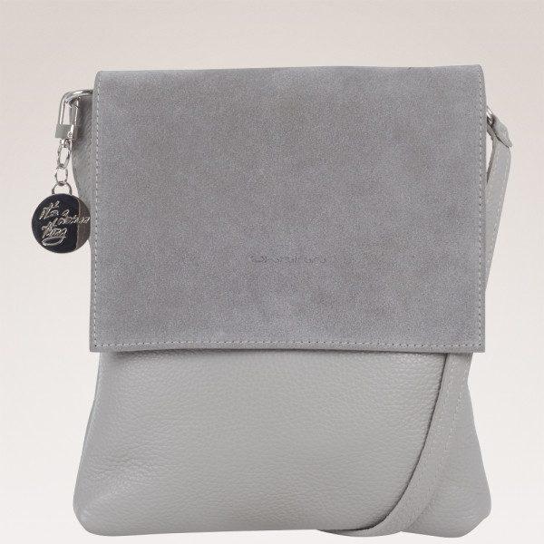 Ulrika Design, väska i Italienskt skinn, grå