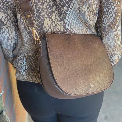 ULRIKA DESIGN Italiensk läder i en svensk design väska